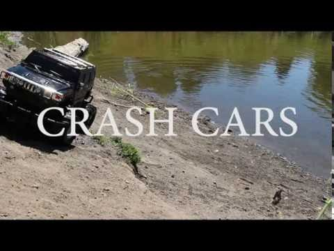 Toy Cars Driving and Crashing in Dirt and Water!