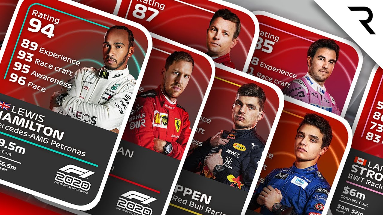 Ed Straw's verdict on Codemasters' new F1 2020 driver ratings