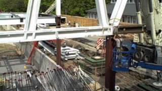 The Construction of Milstein Hall - Part 5 Steel Superstructure