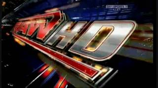 WWE NEW Raw Theme Song + Intro ( Nickelback - burn it to the ground ) HD
