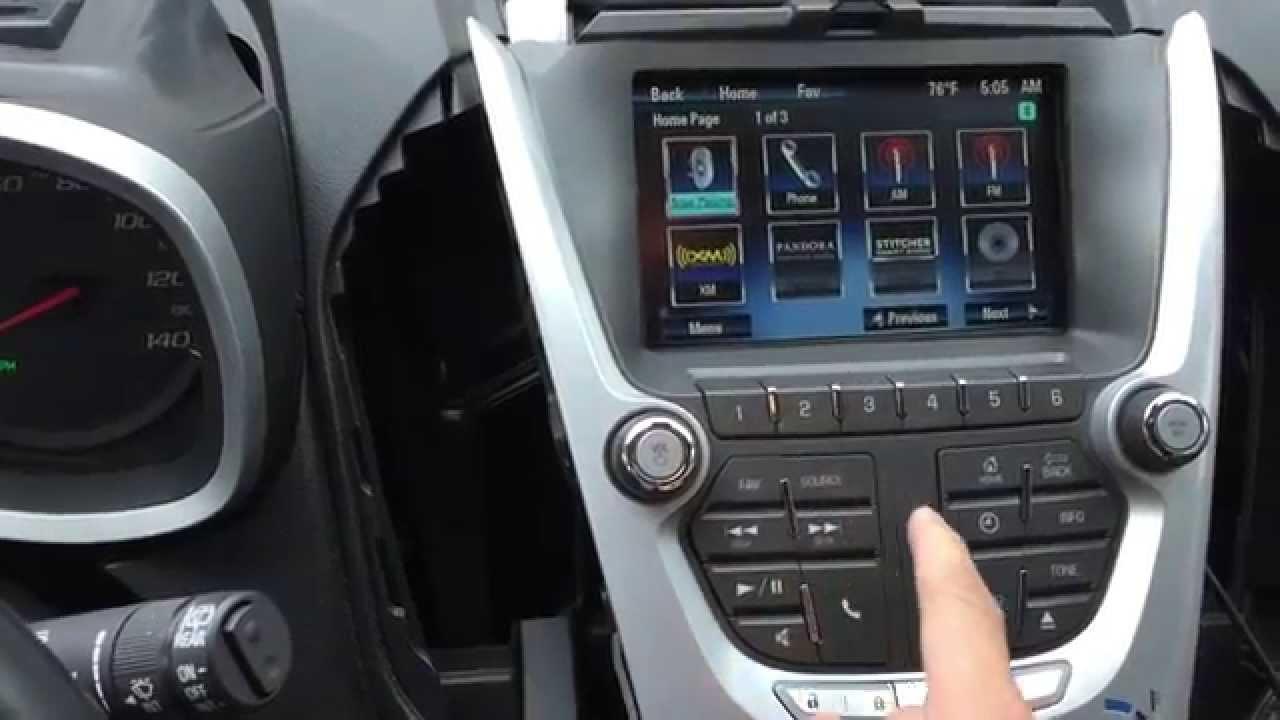 2015 Equinox Navigation Interface Equinox Navigation