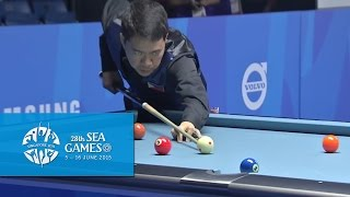 Billiards Men's 9-Ball Pool Doubles Gold Medal | 28th SEA Games Singapore 2015