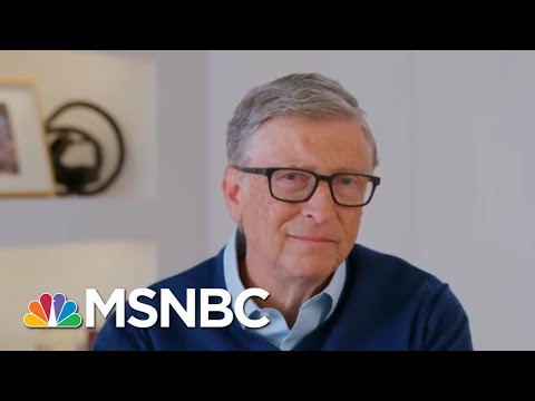 """Bill Gates Warns The """"Next Pandemic"""" Is Coming After Covid-19 - And How To Stop It   MSNBC"""