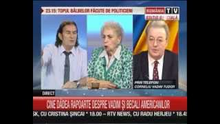 Vadim Tudor vs. Miron Cozma (26.iunie.2013)RTV