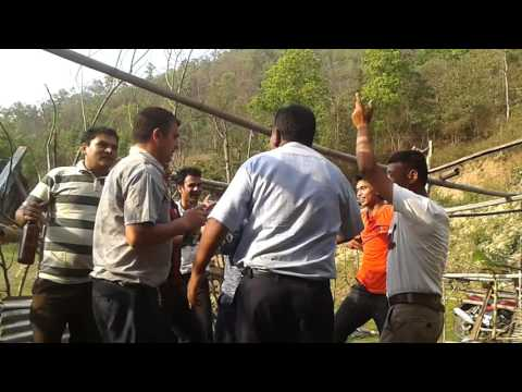 Dance @Bank of Arun river