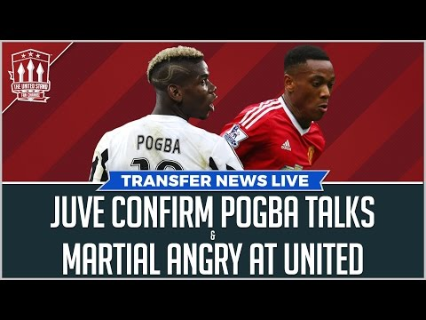 POGBA & MARTIAL Latest! Manchester United Transfer News