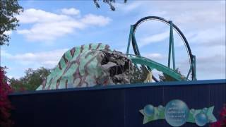 Infinity Falls Construction Update #2 ~ SeaWorld Orlando with Kraken Unleashed, Dolphin Nursery