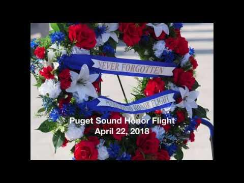 Puget Sound Honor Flight, April 22, 2018