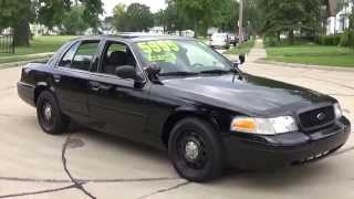 "2008 FORD CROWN VICTORIA POLICE INTERCEPTOR FOR SALE ""SOLD"""