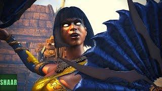 Mortal Kombat XL - Tanya Performs All Characters Victory Poses