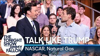 Talk Like Trump: NASCAR, Natural Gas