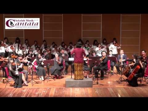 Becak, Naik Kereta Api, Naik Delman - Medley Lagu Anak -- Cantata Violin Ensemble