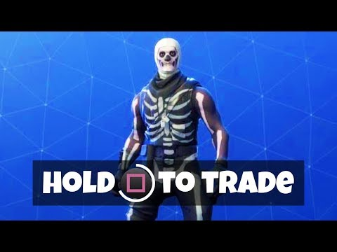 TRADE SKINS IN FORTNITE (New Gifting Feature)