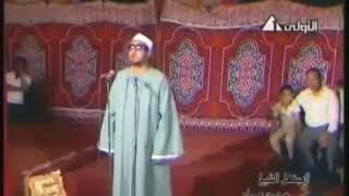 ابتهال للشيخ محمد عمران ||يا عيني جودي بالدموع وودعي شهر الصيام