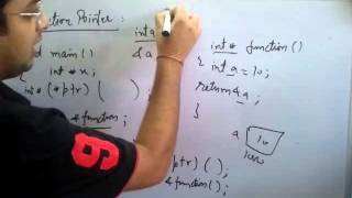Lec 23-Function Pointers (In Hindi)