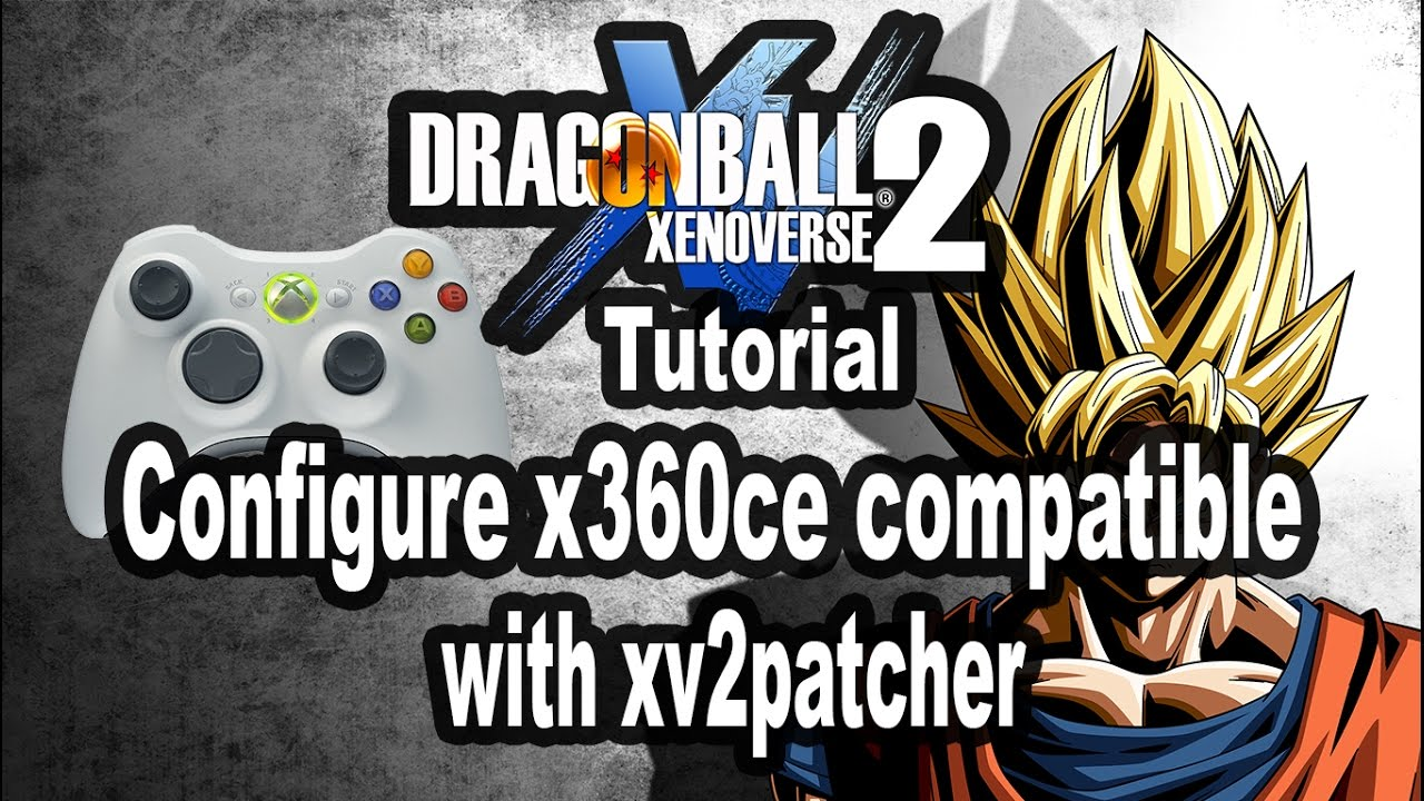 How to configure x360ce emulator with Xv2pacther Dragonball