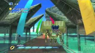 Sonic Unleashed Abadat Wii Trailer