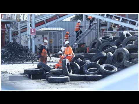 Waste tyres dumped in landfill by company paid millions to recycle