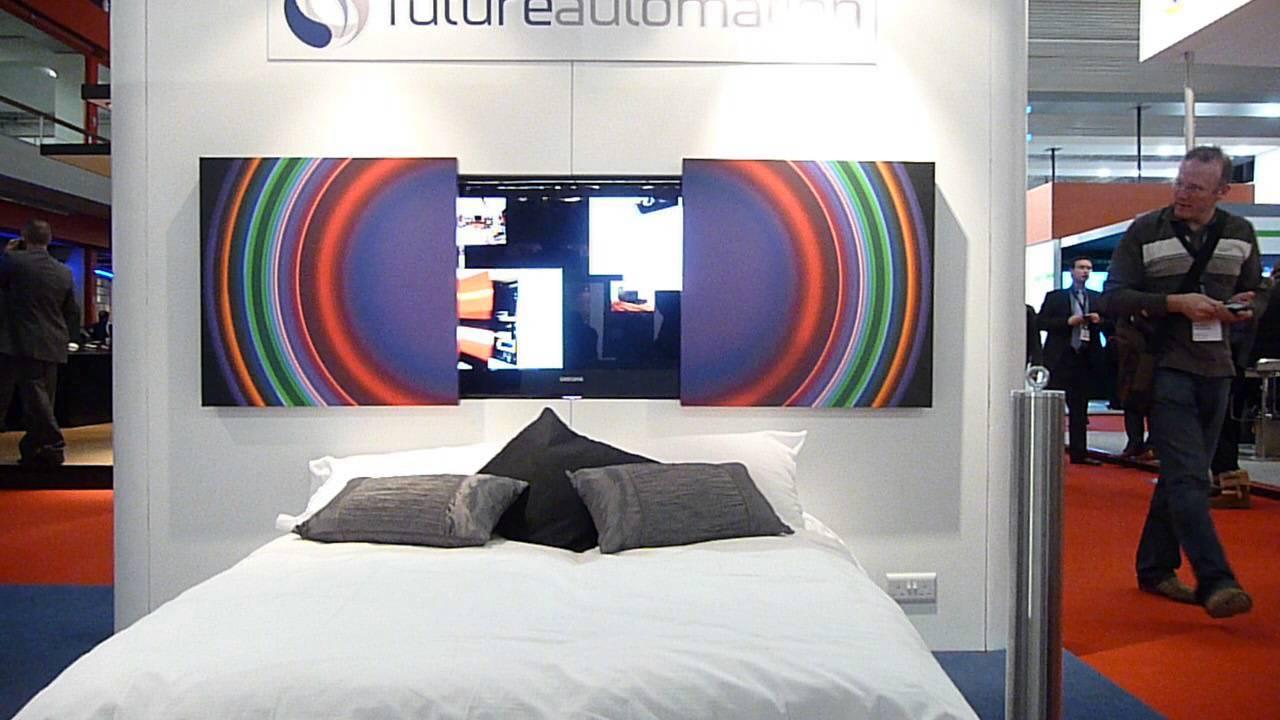 www moncineprive com motorisation de tableaux pour cacher une television futureautomation pic split