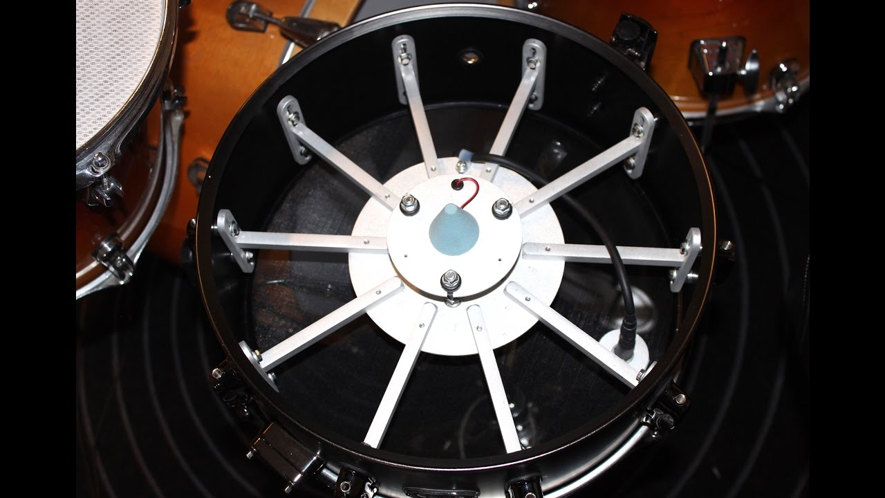 My Converted Tama E-Drum Snare (R-Drums RTS Trigger Review)