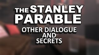 The Stanley Parable Demo - ALL Easter Eggs / Secrets