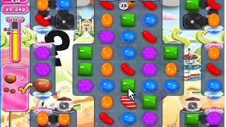 Candy Crush Saga Level 868 NO BOOSTER hight score 123380
