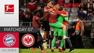 First defeat for Nagelsmann FC Bayern Frankfurt 1 2 All Goals Matchday 7 Bundesliga 21 22