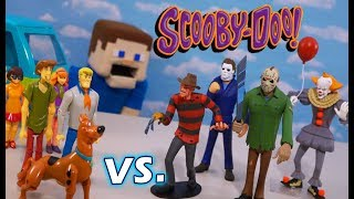 Scooby Doo vs. HORROR MOVIE MONSTERS?! Toony Terrors Figures!