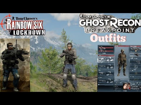 *Ghost Recon Breakpoint Rainbow Six Lockdown Outfits  