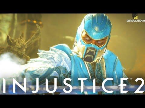 THE GOD SUB ZERO EPIC GEAR! - Injustice 2