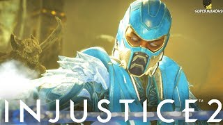 "THE GOD SUB ZERO EPIC GEAR! - Injustice 2 ""Sub Zero"" Gameplay (Epic Gear)"