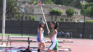 2013 Track - Varsity Girls' Pole Vault  at League Finals