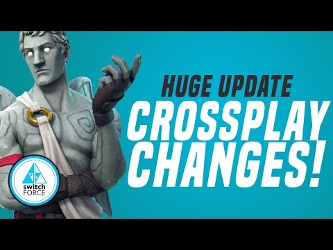 A BIG Update CAUSES Fortnite Switch CrossPlay Changes... Good Or Bad? (Switch News)