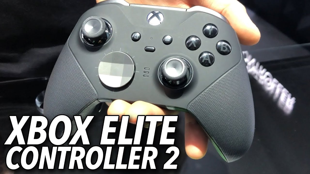 Xbox Elite Wireless Controller Series 2 Hands-On   E3 2019 ... Xbox 2 Controller