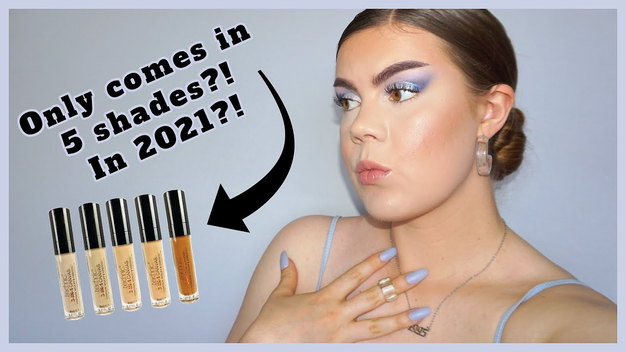 NEW Technic 3-in-1 Canvas Concealer Review & Wear Test! Tarte Shape Tape Concealer Dupe