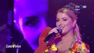 09 Letitia Moisescu &amp Sensibil Balkan - D A I N A (LIVE Eurovision 2019 Romania Semi 2 ...