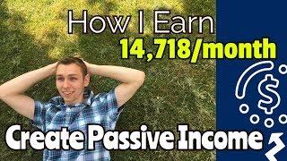 كيفية إنشاء الدخل السلبية: كسب $عيار 14 قيراط شهريا