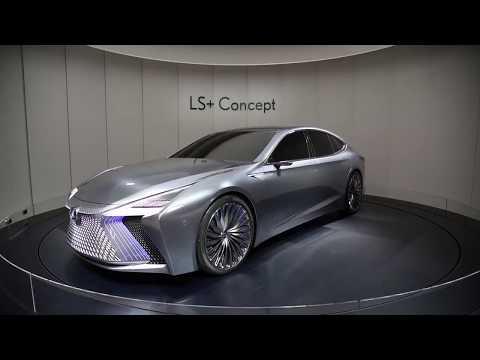 Lexus LS+ Concept 2020. Tokyo Motor Show 2017