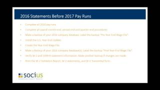 Planning Your Dynamics GP Year End Payroll
