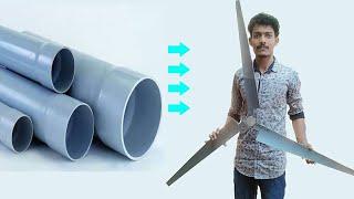 Easiest Method to Make Wind Turbine Propeller