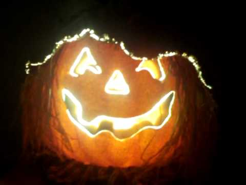 Fiber Optic Pumpkin Youtube
