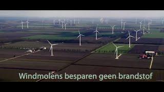 Windmolens besparen geen brandstof