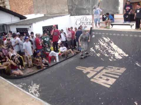 GOSMA SKATE - CAMPEONATO MINI RAMP DA CHRONIC SKATESHOP SL - 2012 / OPEN