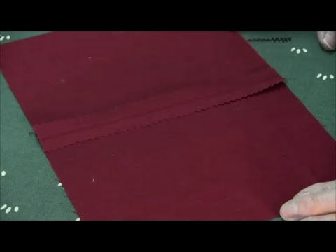 Pinking Shears - Seam Finishing Technique