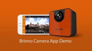 Brinno TLC120 & Brinno Camera app demo video (EN)