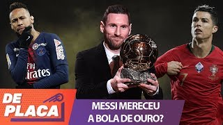 MESSI mereceu ser o BOLA DE OURO e CRISTIANO RONALDO deveria estar no TOP 3?