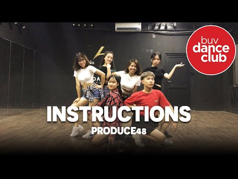 INSTRUCTION - Produce 48 - Dance Cover by BUV Dance Club from Vietnam (Practice Room Version)