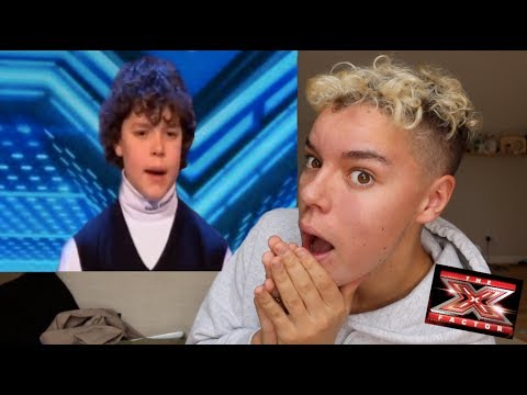 REACTING TO MY X FACTOR AUDITION!!!