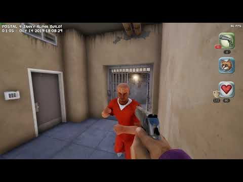 POSTAL 4: Janky early access gameplay