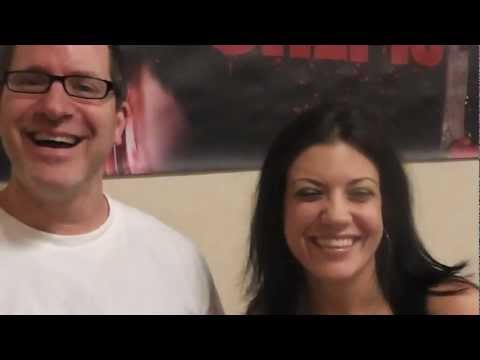 Tiffany Shepis Interview with Metal Rules! TV at Chiller Theatre Halloween 2012